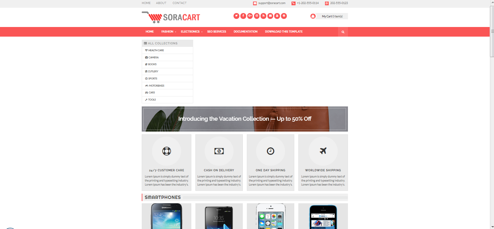 Template Blog E-Commerce dan Template blogger